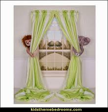 Jungle Curtains For Nursery Decorating Theme Bedrooms Maries Manor Jungle Baby Bedrooms