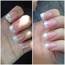 glitter acrylic tips by rose yelp