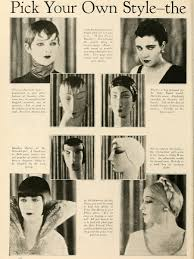 the silent life in 1925 ladies now art deco hairstyles are yours