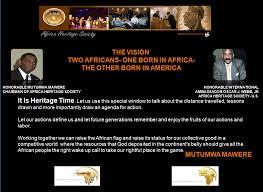 What Is The African Flag International Goodwill Ambassador Oscar J Webb Of The Africa