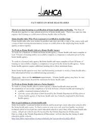 home health care aide resume sle 28 images care aide resume