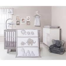 trend lab safari chevron 3 piece crib bedding set overstock com