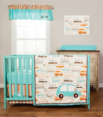 Orange Crib Bedding Blue And Orange Nursery Crib Sets Bedding For Baby And Boys