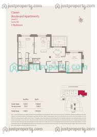 claren tower 2 floor plans justproperty com