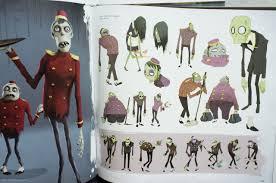 book animation concept art 3d model sheets character design visual