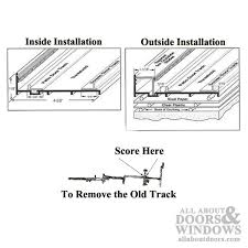 Patio Door Track Replacement Furniture Patio Door Track Repair Patio Door Track Repair Patio