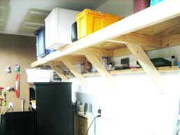 Wood Shelving Designs Garage by Adjustable Garage Shelving Ideaswall Shelf Ideas For Wall