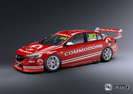 opel commodore 2018 triple eight doubles up with 2018 development supercars