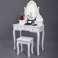 Bobkona St Croix Collection Vanity Set With Stool White Best Dressers On A Budget 2017 Value For Money Daringabroad