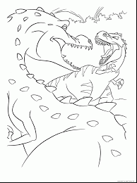 outstanding ice age dinosaurs coloring pages with ice age coloring