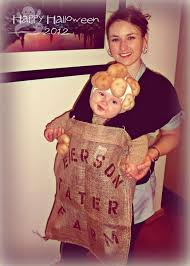 Potato Sack Creative Baby Halloween 10 Babywearing Costume Ideas Images Baby