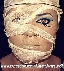 Mummy Halloween Costume Halloween Makeup Egyptian Mummy Cleopatra Amber Janelle