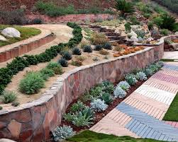 Fine Backyard Retaining Wall Designs And More On Landscape Walls - Landscape wall design
