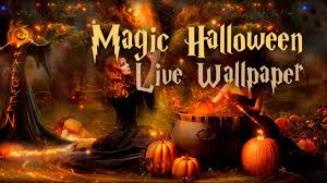 magic halloween free lwp live wallpapers android youtube