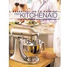 livre cuisine kitchenaid amazon fr livre recettes kitchenaid