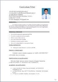 Resume Pattern For Job by Sample Resume Word Doc Format Gallery Creawizard Com