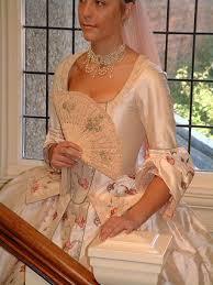 eighteenth century style caribbean pirate wedding dress