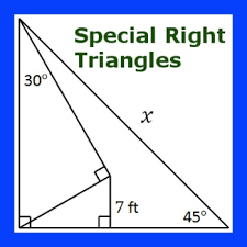 multi step special right triangles practice i by mental math tpt