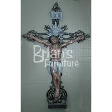 large crucifix large crucifix wall indoor and outdoor decor