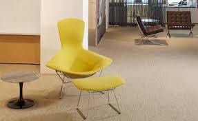 bertoia bird chair u0026 ottoman hivemodern com