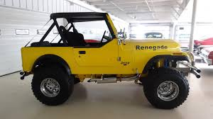 1980 jeep wrangler sale 1980 jeep renegade 2dr open stock 717247 for sale near columbus