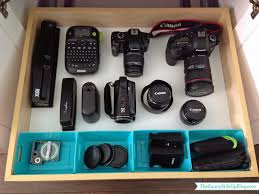 Desk Organization Accessories by Take A Tour Of My New Office Camera Equipment Drawers And Cameras