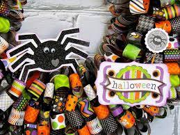 Halloween Wreaths To Make Halloween Paper Ribbon Wreath