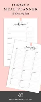 weekly menu templates free the 25 best meal planning templates ideas on weekly