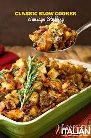 crock pot thanksgiving recipes glamamom