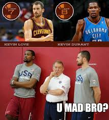 Kevin Love Meme - nba memes on twitter kevin love kevin durant according to espn