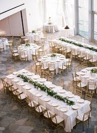 wedding tables it s a day for a white wedding lush green lush and garlands
