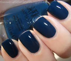 kozmetikbloglari sation nail polish swatches rock a guy blue