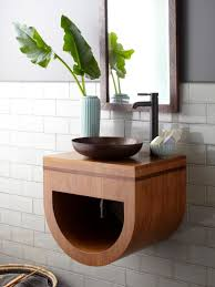 Wood Bathroom Furniture Big Ideas For Small Bathroom Storage Diy