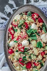 israeli couscous recipe the mediterranean dish
