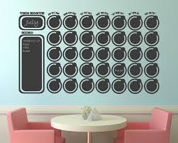 wall decoration wall sticker calendar lovely home decoration wall sticker calendar interior designing home ideas vintage