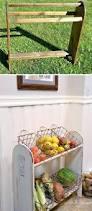 20 farmhouse kitchen storage ideas hative blanket rack to farmhouse vegetable stand