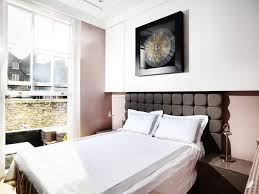 White Bedroom Brown Furniture White Bed Cover Brown Headboard One Bedroom Flat London White