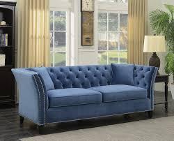 willa arlo interiors roberge tufted wingback chesterfield sofa