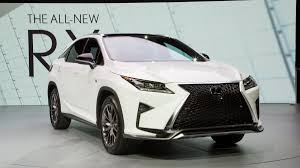 lexus new car 2016 lexus rx news and photos from the new york auto show