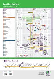 Metro Light Rail Map by Valley Metro And Partners Link Light Rail To Neighborhoods