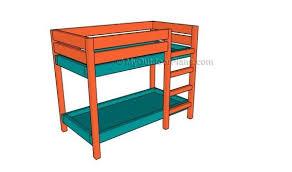 free bunk bed plans best 25 bunk bed plans ideas on pinterest