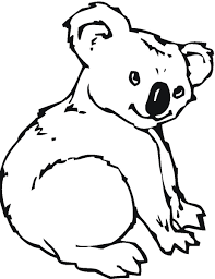 black and white koala clipart cliparts and others art inspiration