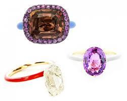 color gemstone rings images Trending color on metal gem obsessed jpg