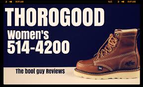 womens boots reviews thorogood heritage s 6 moc toe the boot
