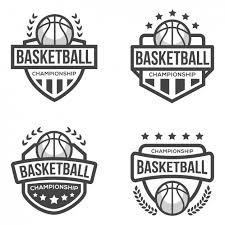 basketball logo template vector free download