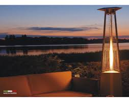 glass tube patio heater marmorkamin shop italkero patio heater falo