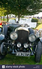 bentley racing green a classic racing green 1928 bentley 4 litre parked at the