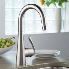 grohe kitchen faucets ladylux 3 pro single handle pull kitchen prep sink faucet