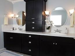 bathroom cabinetry ideas ideas for black bathroom cabinets and storage spaces