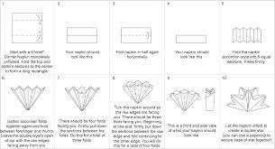 how to make table napkins double star napkin fold